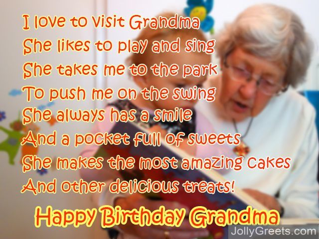 Birthday Poems For Grandma Read all poems for grandma. birthday poems for grandma