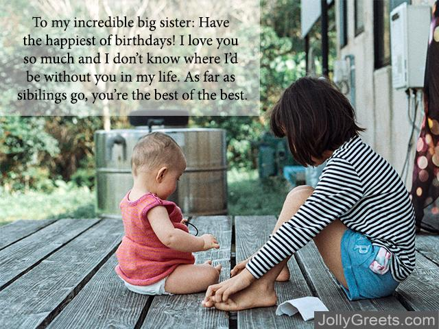 Birthday Wishes Quotes for Sister