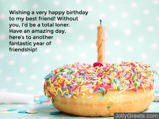 Funny Birthday Wishes To A Friend