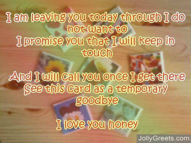 Goodbye Poems For Girlfriend