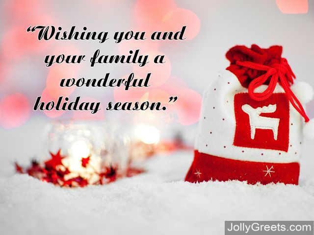 What To Write In A Holidays Card  Holidays Wishes Messages Sayings