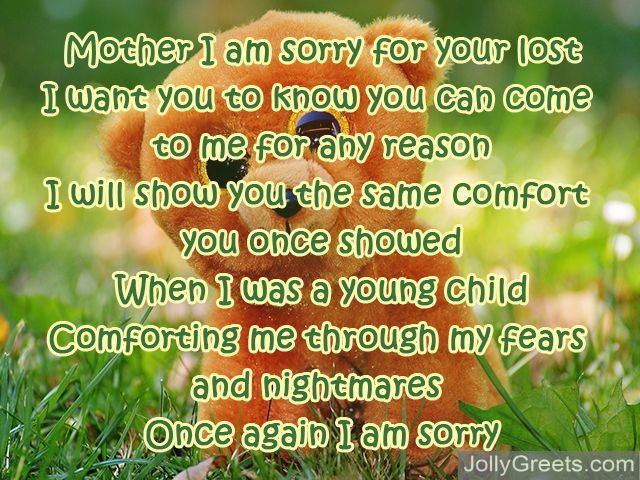 I Am Sorry I Hurt You Poem