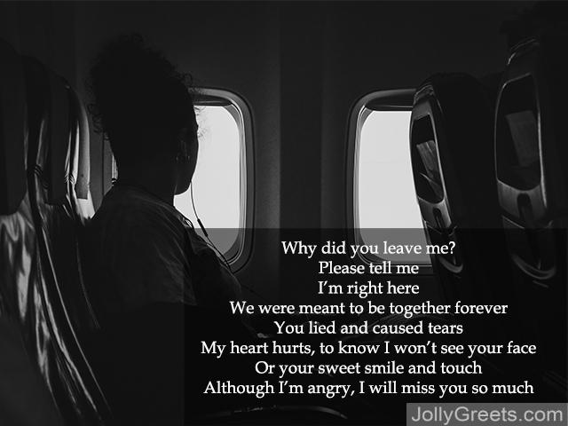 Missing the love of your life poems