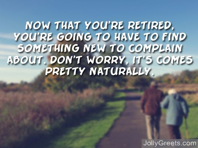what to write on retirement card