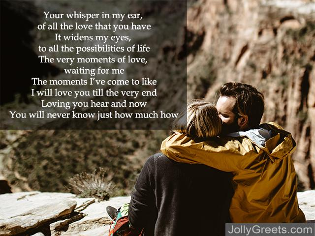Love poems one i for for him the 25+ Romantic