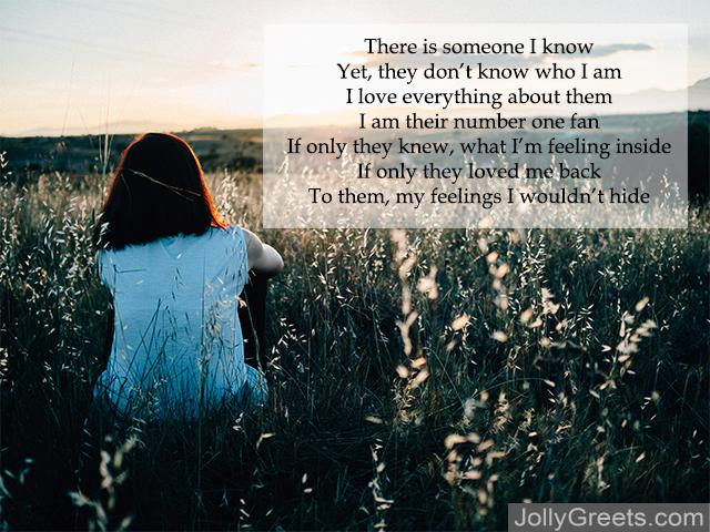 About love poems someone with in being Being With